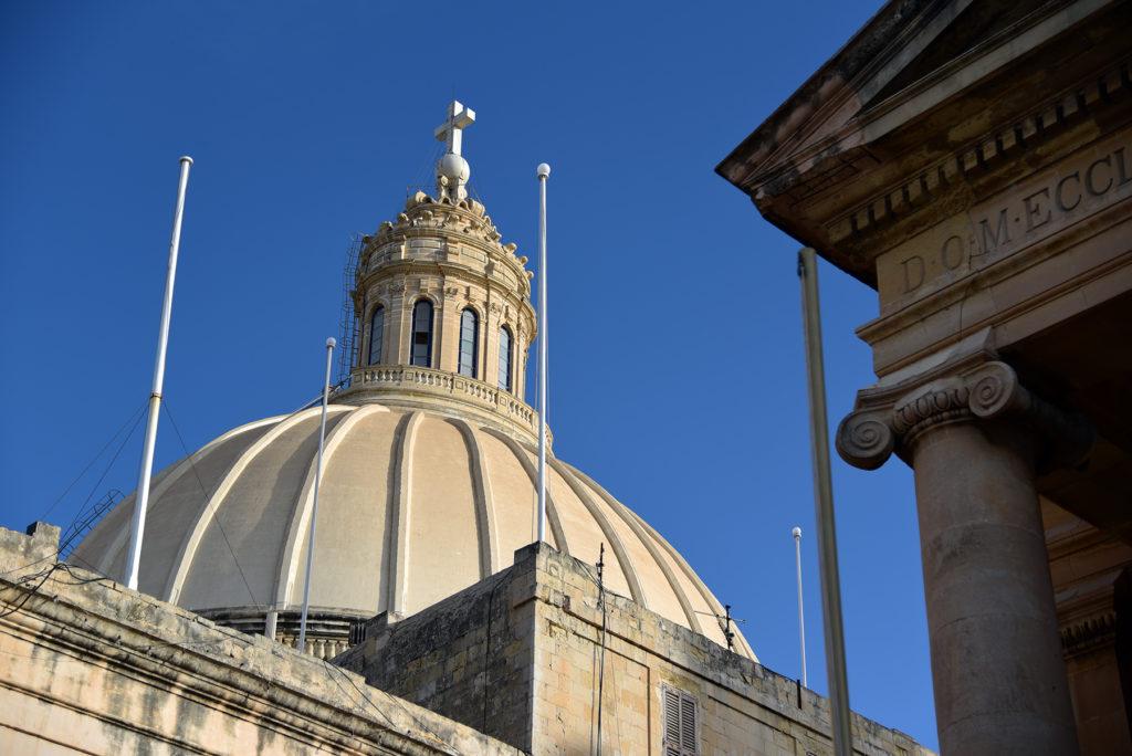 Valletta - kopuła Bazyliki Matki Bożej z Góry Karmel