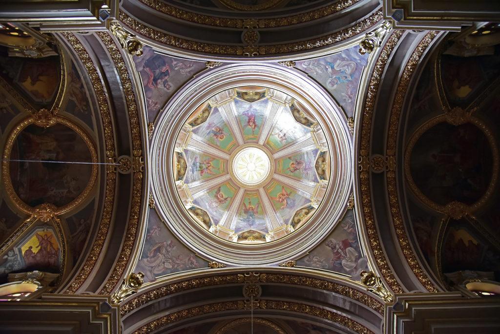 Valletta - kopuła w kościele św. Augustyna