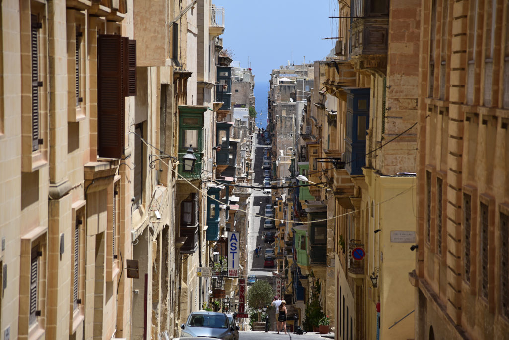 Valletta - ulica Świętej Urszuli