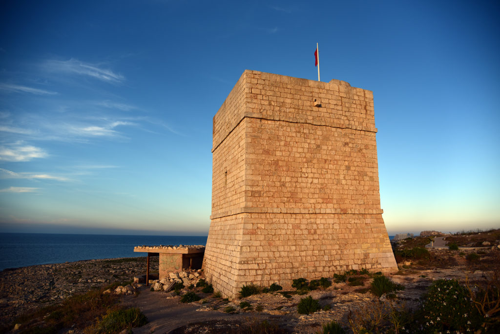 Wieża Madliena - zachód Słońca