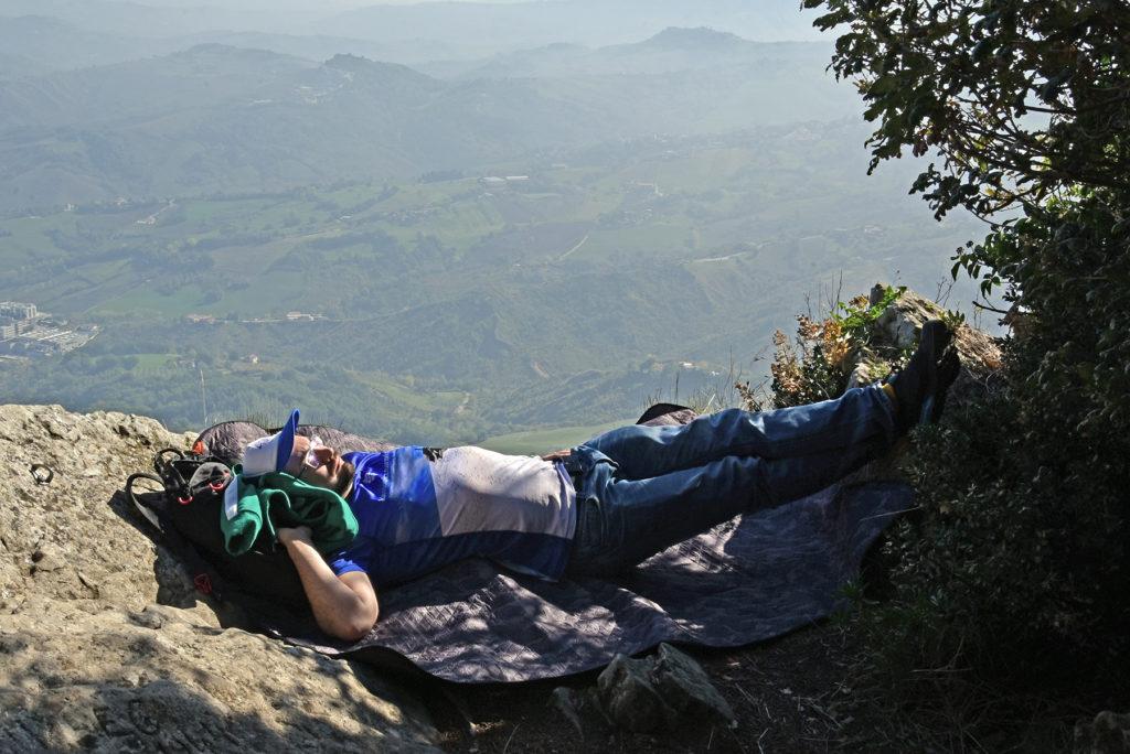 Monte Titano - Chillout na zboczu Monte Titano