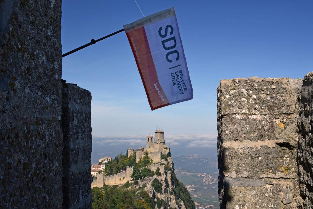 Monte Titano - SDC na szczycie