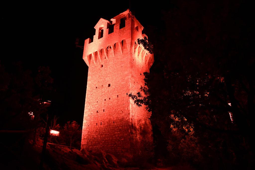Monte Titano - trzecia wieża