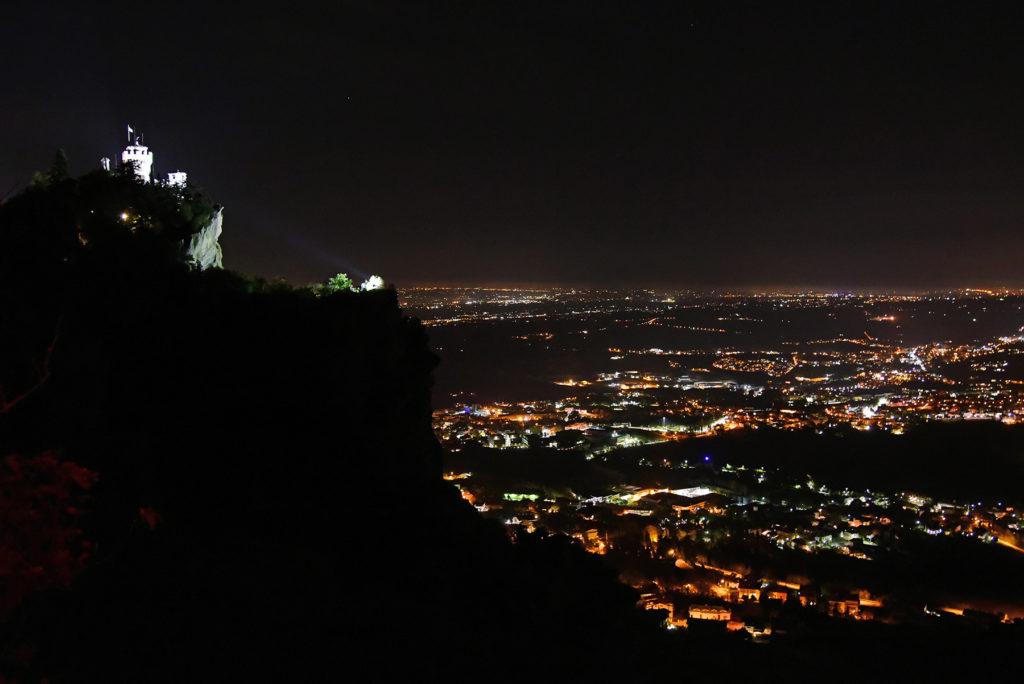 Monte Titano - widok na drugą wieżę