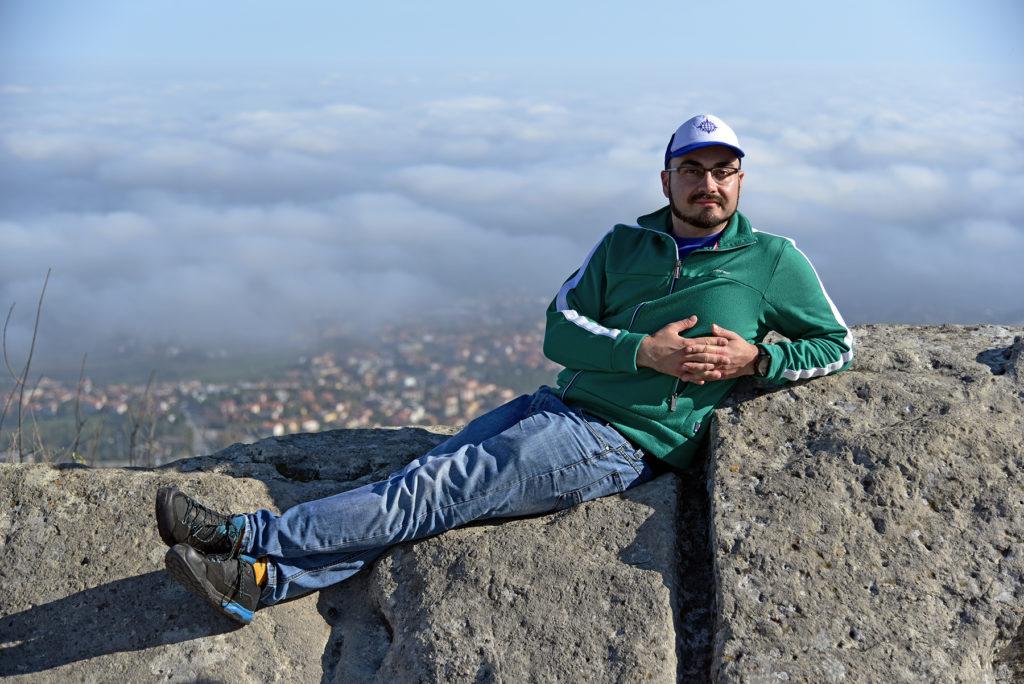 San Marino - Łukasz w chmurach