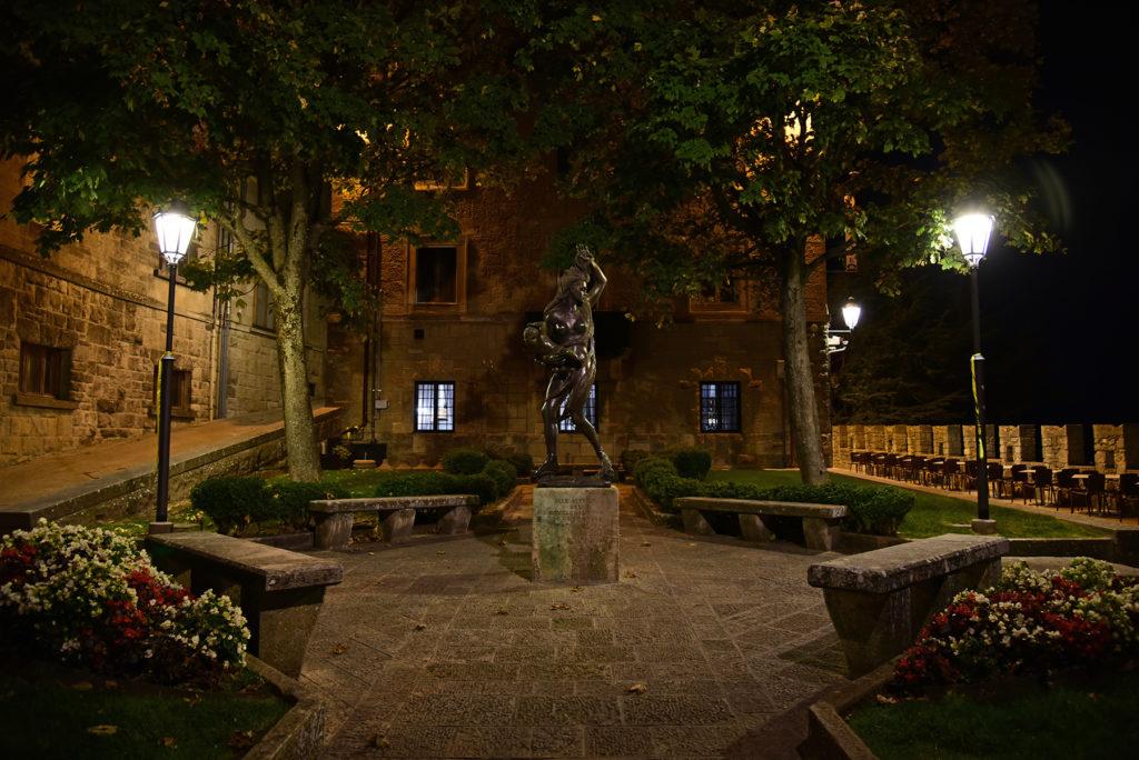 Rzeźba w ogrodach Giardino dei Liburni