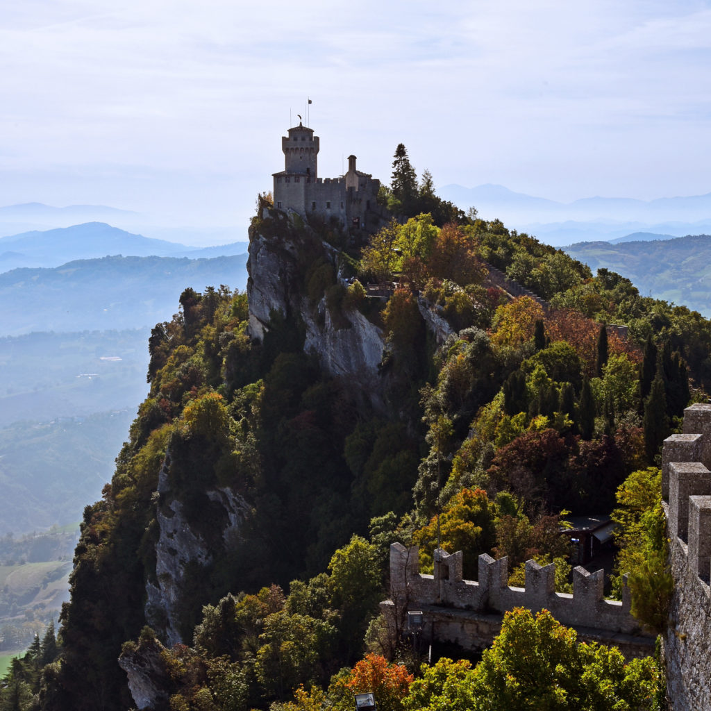 San Marino i Monte Titano