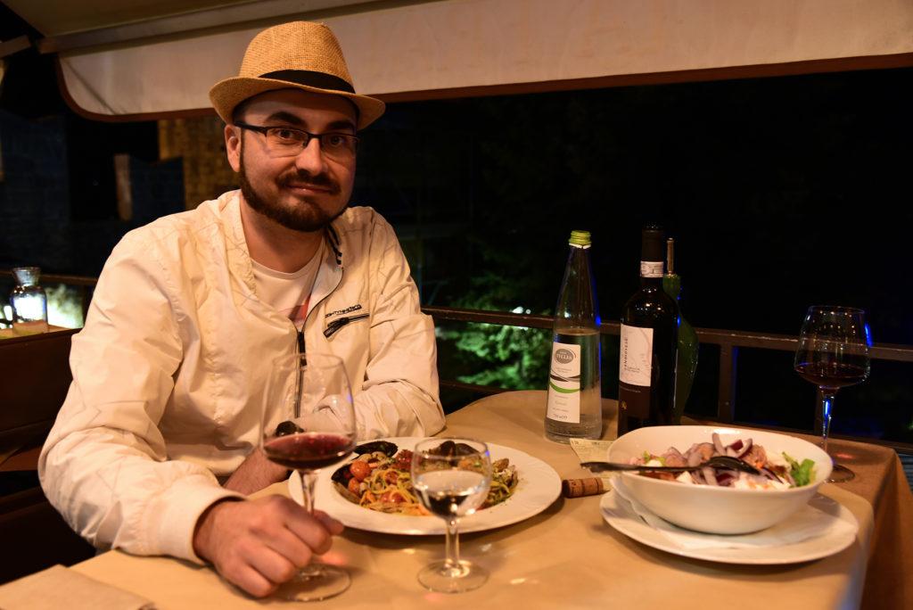 Kolacja w restauracji La Fratta