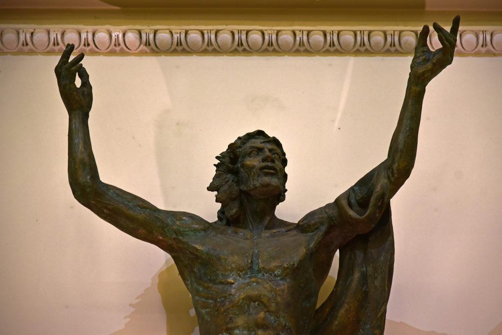 San Marino - rzeźba Chrystusa w bazylice św Maryna