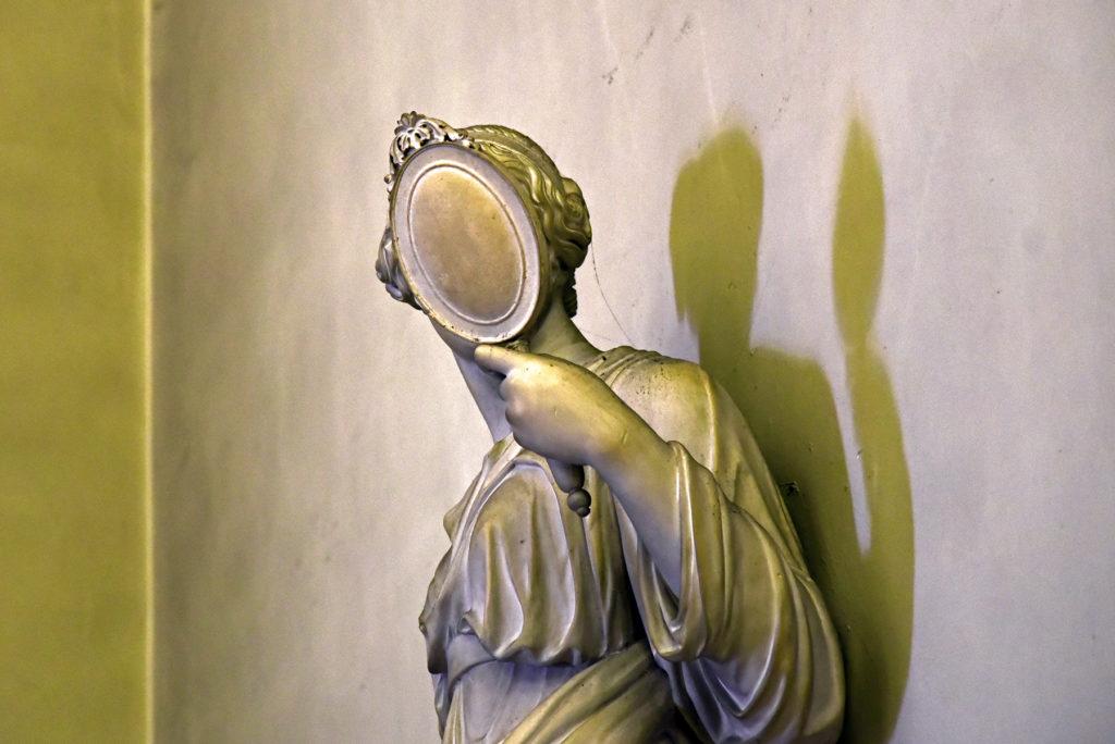 San Marino - rzeźba w bazylice św Maryna