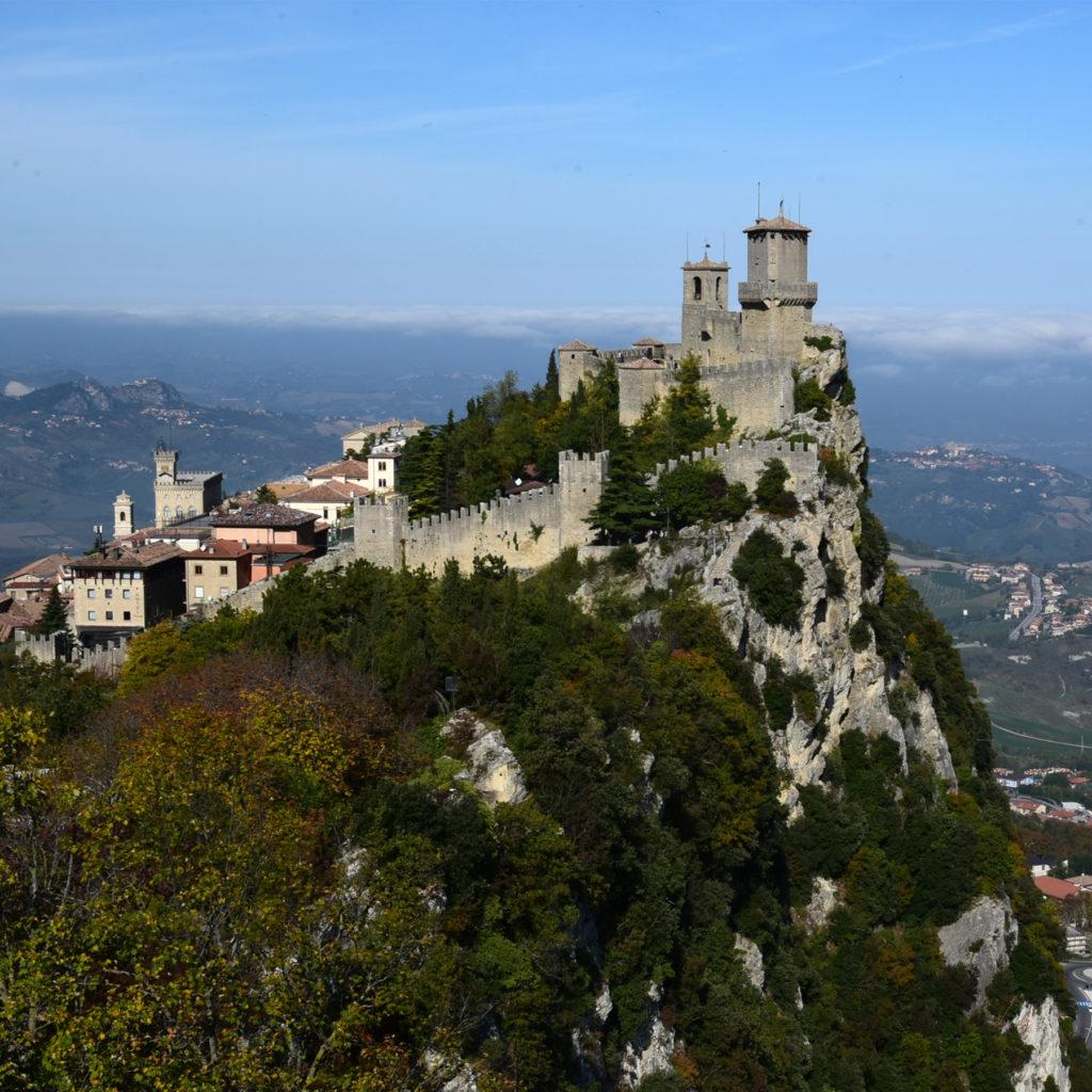 San Marino widok Stare Miasto