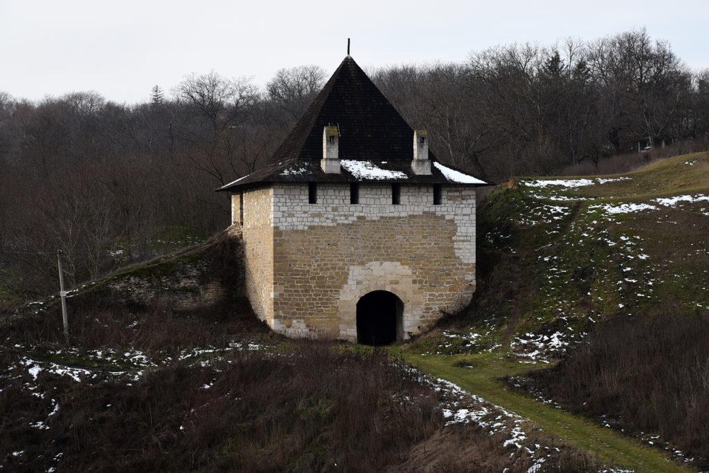 Chocim - jedna z Baszt wokół zamku