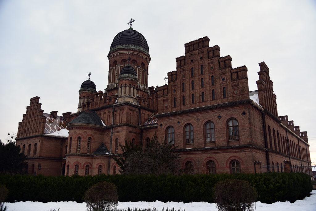 Czerniowce - Czerniowiecki Uniwersytet Narodowy - Cerkiew