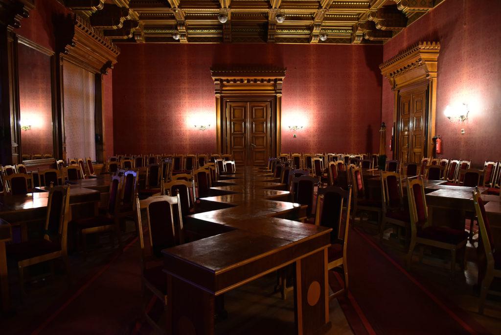 Czerniowce - Czerniowiecki Uniwersytet Narodowy - sala posiedzeń senatu