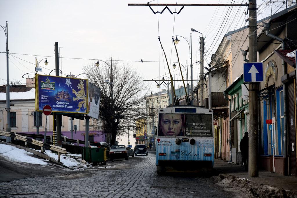 Czerniowce - trolejbus