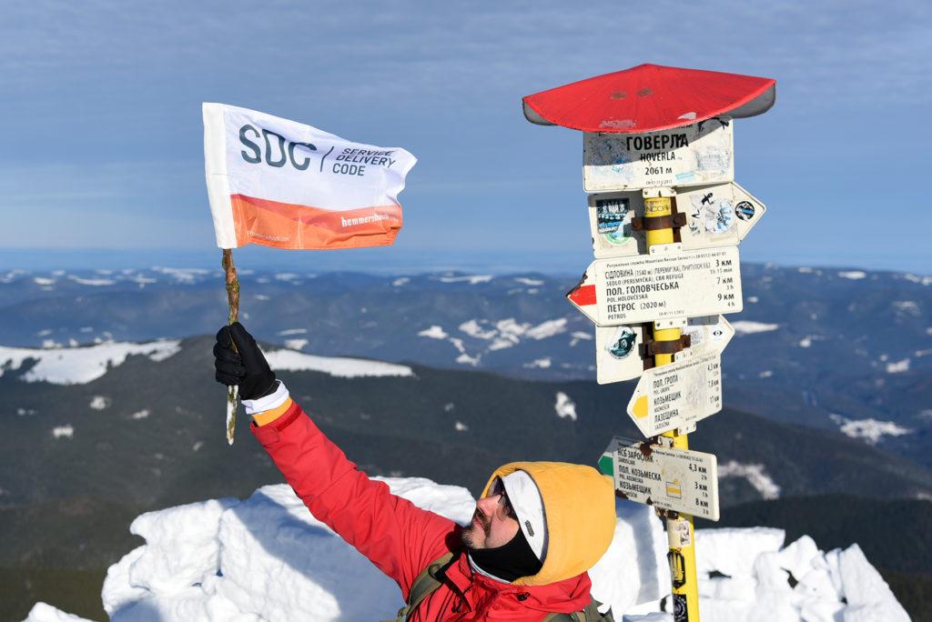 Howerla - Hemmersbach SDC na szczycie