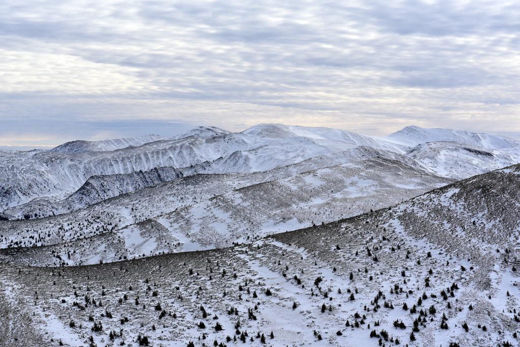 Howerla - widok w kierunku południowym