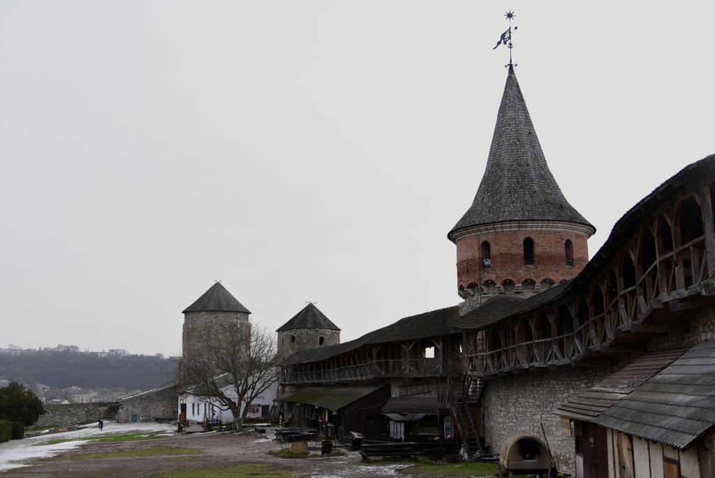 Kamieniec Podolski - dziedziniec twierdzy