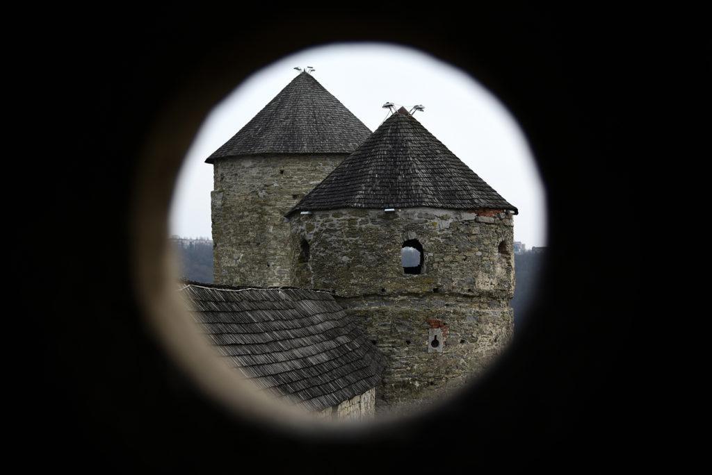 Kamieniec Podolski - widok z okna strzelniczego