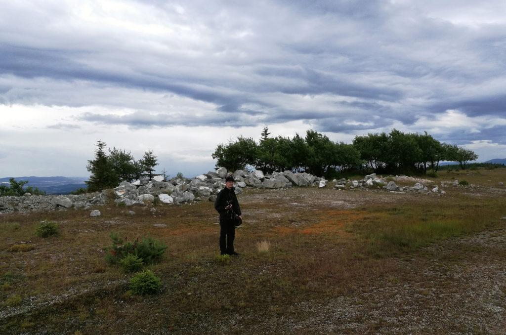 Kopalnia Kwarcu Stanisław - przed zejściem do kamieniołomu