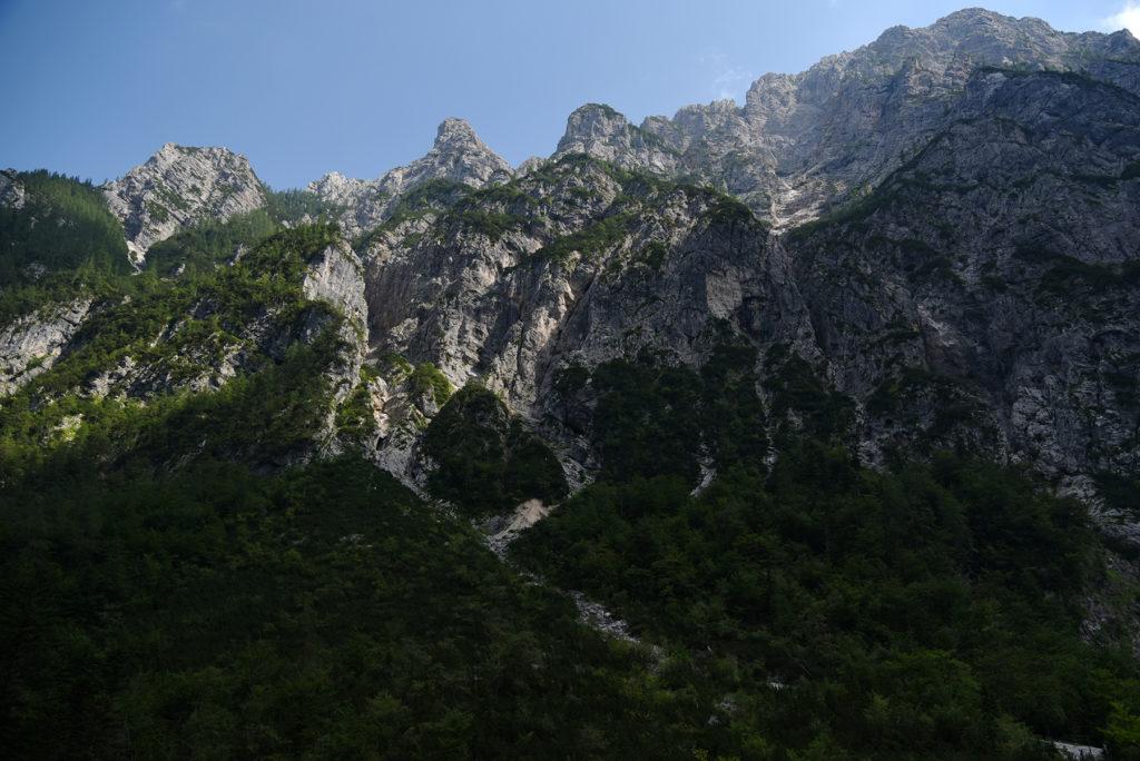 Ściany doliny Krma