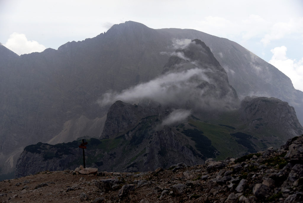 Alpy Julijskie po przejściu burzy