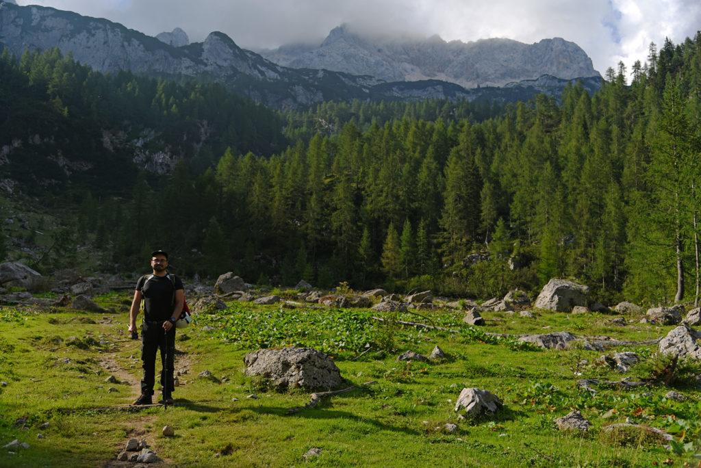 Druga Polana - szlak na Triglav
