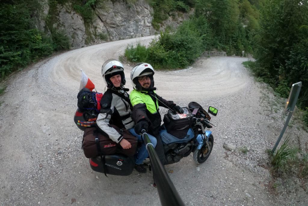 Na zakręcie w Słowenii