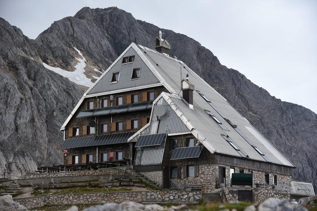 Triglavski Dom - widok przed burzą